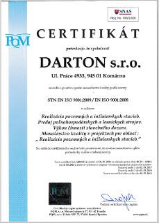 Certifikát #1