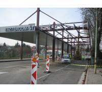 Daňový úrad Štúrovo - odstránenie prekážok na bývalom cestnom hraničnom prechode