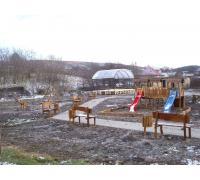 Areál kultúry, oddychu a športu v obci Šarkan